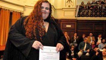 michelle suarez se convirtio en la primera senadora transexual uruguaya