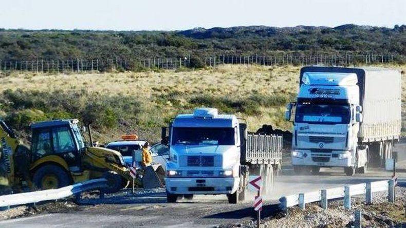Trabajos entre Garayalde y Salamanca: piden circular con precaución