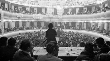 una movilizacion conmemorara los 45 anos del trelewaso