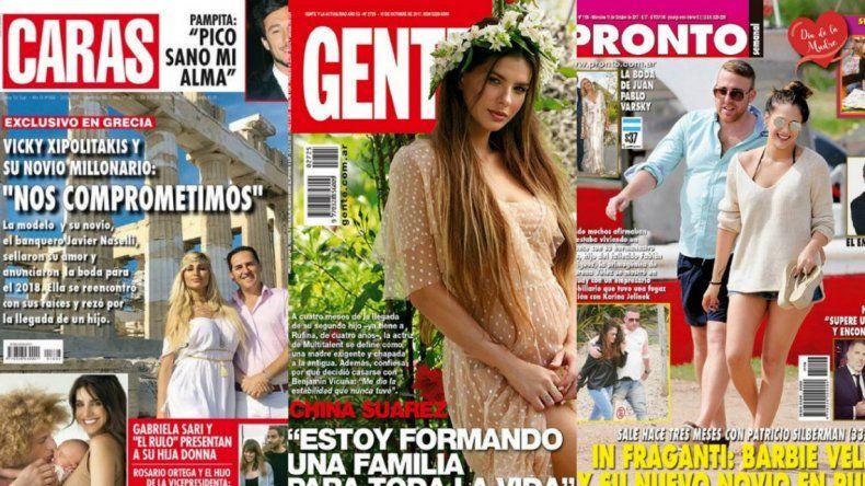 La Griega se comprometió, Barbie Vélez con nuevo novio y la China súper embarazada