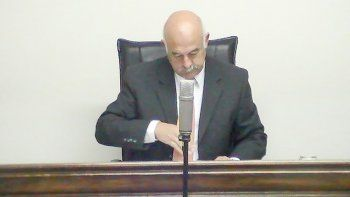 Daniel Camilo Pérez, uno de los jueces que integra el tribunal.