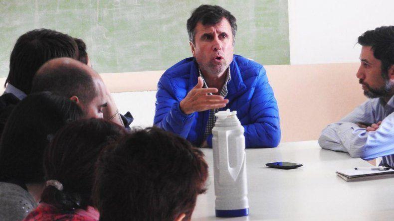 Ricardo Fueyo estuvo en Corcovado y Trevelin.