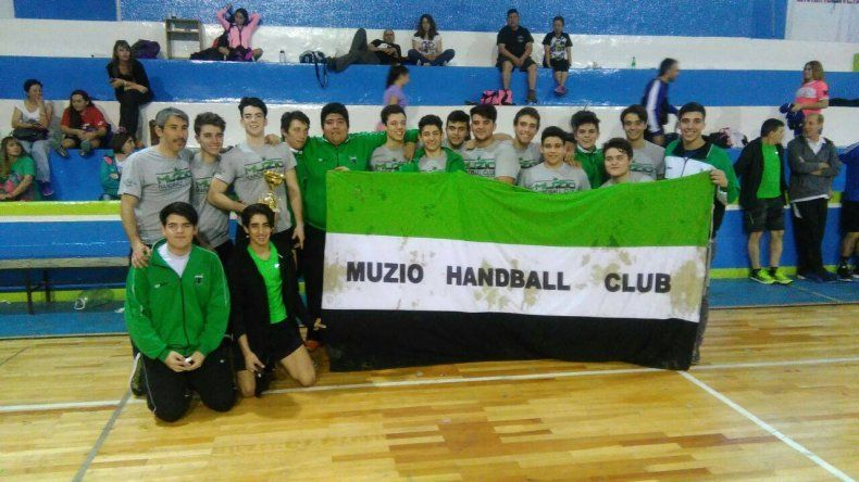 Los pibes de Muzio se quedaron con el campeonato en varones.