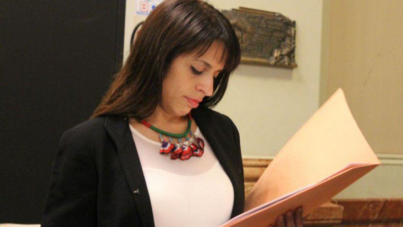 Victoria Donda preside la Comisión de Derechos Humanos de la Cámara de Diputados de la Nación.
