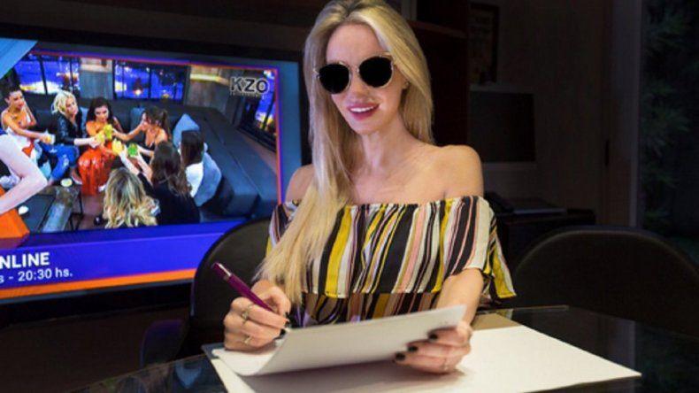 Luciana Salazar firmó contrato para hacer un reality sobre su maternidad