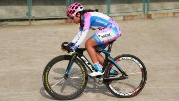 Maribel viene de competir en el Panamericano, Mundial de pista y de ruta, todo en Junior.