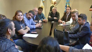 La reunión que ayer fue encabezada por el ministro Coordinador de Gabinete, Jerónimo García.