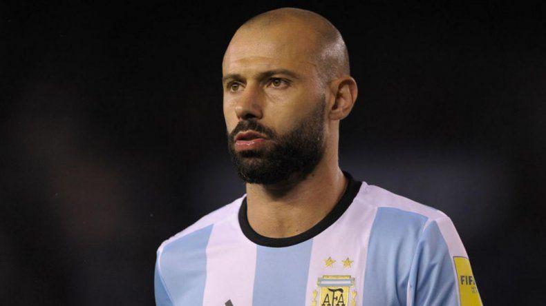 Javier Mascherano adelantó que el Mundial de Rusia será su última participación con la selección argentina.
