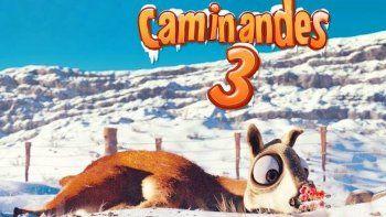 las aventuras de un guanaco animado en la patagonia