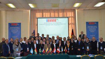 chubut participo en encuentro latinoamericano sobre manejo del fuego