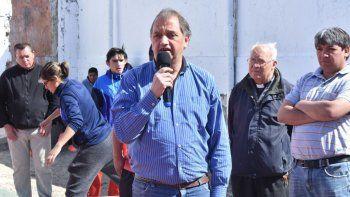 el municipio inauguro un playon deportivo en el barrio pietrobelli