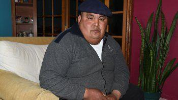El lonko tehuelche Luis Quinchamal solicita obras y ayuda para la reserva de El Chalía.