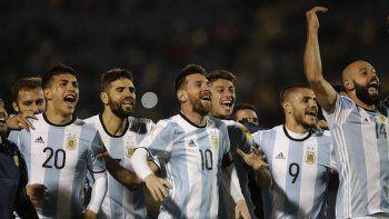 La selección argentina de fútbol logró el objetivo de clasificarse para el Mundial de Rusia recién en la última fecha.