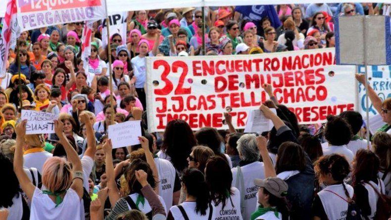 Por primera vez Chubut será sede del Encuentro Nacional de Mujeres