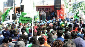 cientos de camioneros celebraron el dia de la lealtad