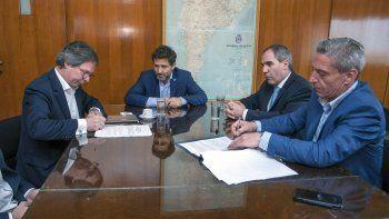 Arcioni y Oca firmaron con Nación el segundo tramo del Fondo Fiduciario