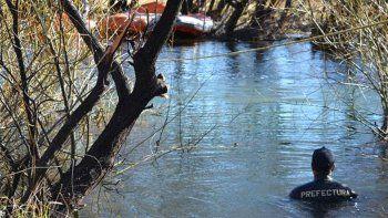 hallaron un cuerpo en el rio chubut: investigan si se trata de santiago