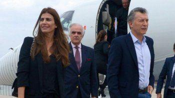 polemico: macri viajo a uruguay