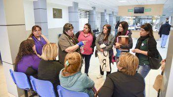 Las enfermeras de los Centros de Atención Primaria de Salud tuvieron ayer un acercamiento con el Ministerio de Salud de la provincia.