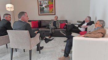 Das Neves y Jerónimo García se reunieron con autoridades de Pan American.