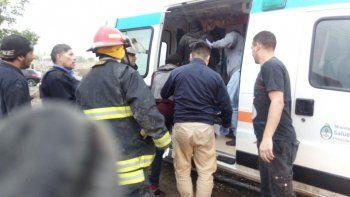 adolescentes trasladados de urgencia tras sufrir quemaduras