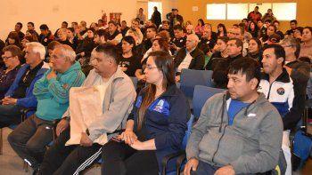 Referentes de diferentes instituciones deportivas estuvieron presentes en el lanzamiento.