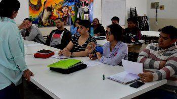 La mayor parte de los emprendedores que asiste a la charlas de capacitación son jóvenes.