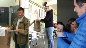asi emitieron sus votos los candidatos en chubut
