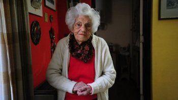 tiene 103 anos y reclamo poder votar: yo estoy de paso, pero la patria queda