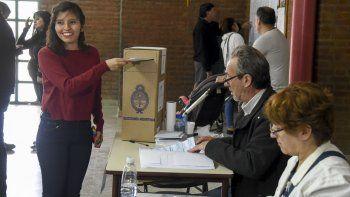 Emilse Saavedra, la candidata más joven que tuvieron las elecciones a diputados nacionales en Chubut.