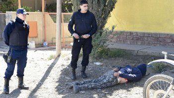Marcos Mayo fue detenido el sábado cuando circulaba a bordo de una moto por el barrio Industrial.