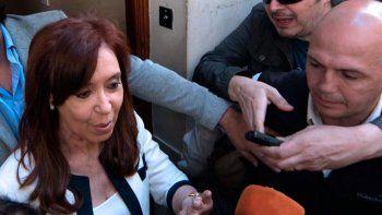Cristina Kirchner se presentó a declarar en el juicio por la obra pública