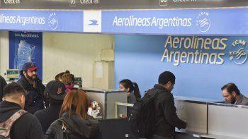 Trabajadores de Aerolíneas y Austral pararán el próximo martes