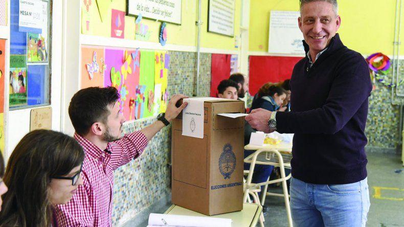 Mariano Arcioni obtuvo un total de 101.103 votos como cabeza de lista de la boleta del frente Chubut para Todos.