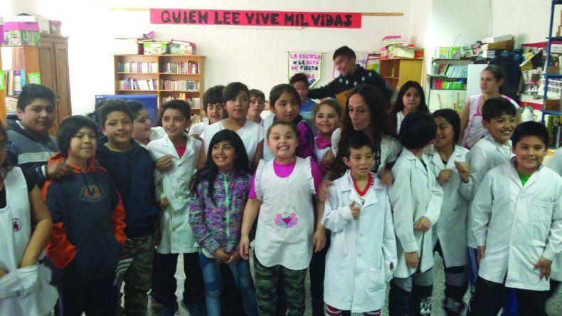 Culminó en Epuyén el proyecto Cuentos y Cantos Rodados