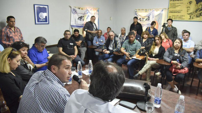 La CGT Saúl Ubaldini finalmente fue normalizada ayer por el coordinador nacional de la Secretaría del Interior