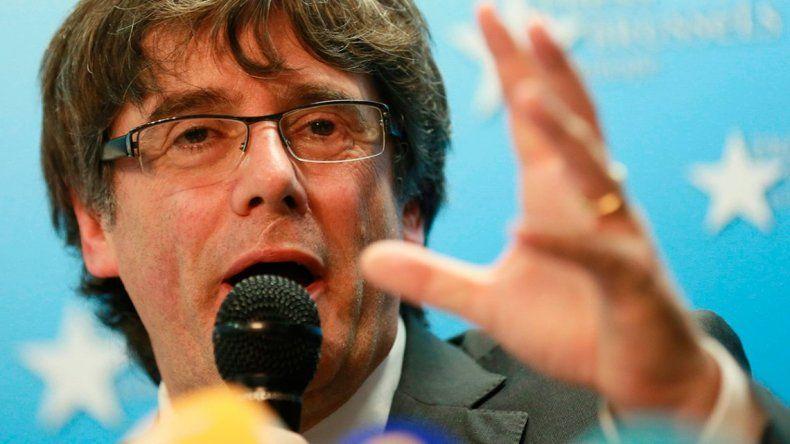 Se entregó Puigdemont, el expresidente de Cataluña