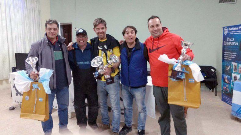 Buena concurrencia tuvo la fecha de pesca submarina en Comodoro Rivadavia.