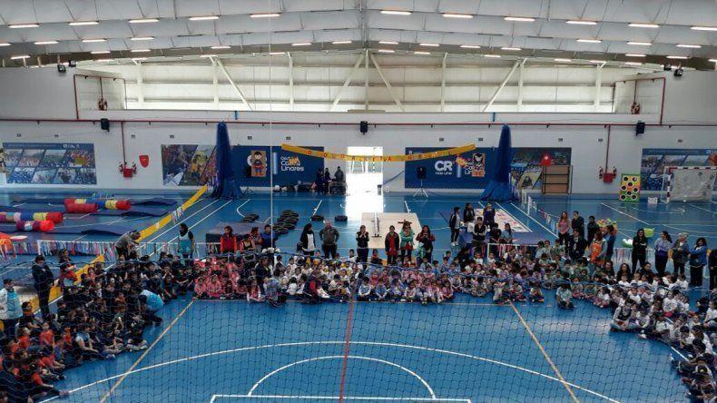 Más de 3.000 niños participaron de la Escuela de Superhéroes