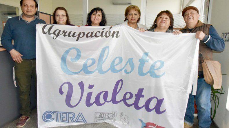 Los candidatos a congresales por la lista Celeste-Violeta se definen como la opción opositora dentro del gremio de la ATECh para las elecciones del 16 de noviembre.