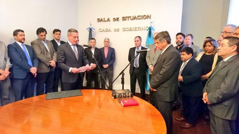 Mammarelli: vamos a trabajar en la refuncionalización del Estado