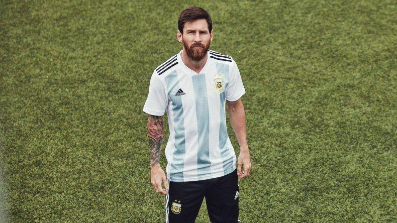 La Selección Argentina tiene nueva camiseta