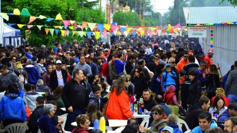 Unas 25 mil personas fueron parte del Chorilavon