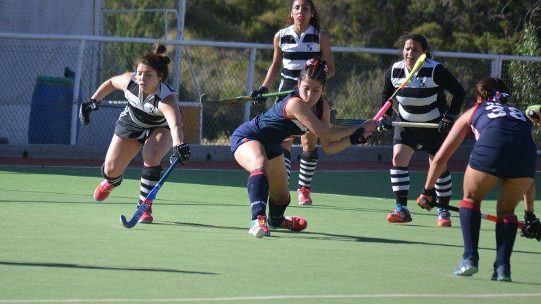 Comodoro RC derrotó por 1-0 a San Jorge RC en uno de los partidos de Primera Damas que se jugaron el domingo en cancha de Calafate RC.