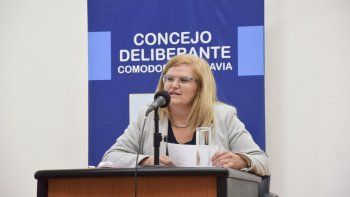 Norma Contreras lapidaria. La concejal llevó sus denuncias políticas a la Justicia.