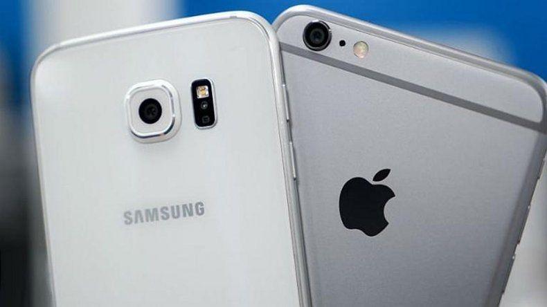 Apple ganó una batalla contra Samsung en la guerra de patentes