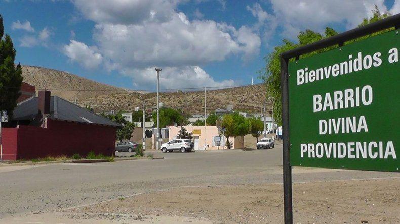 El barrio Divina Providencia ha tenido un importante crecimiento en los últimos años.
