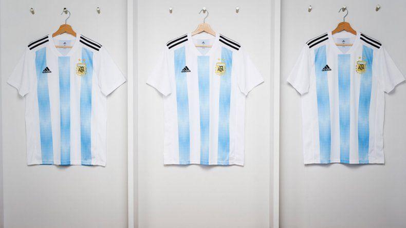 Una textil de Trelew en crisis hizo la tela de la camiseta que la Selección usará en el Mundial