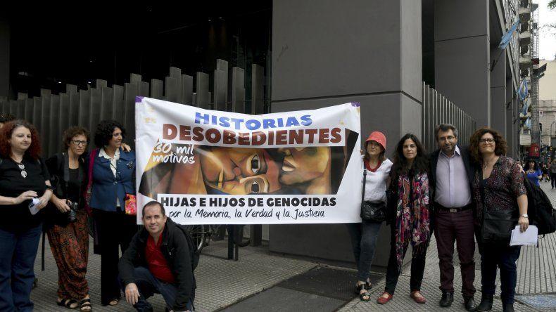 El Colectivo Historias Desobedientes nació este año y agrupa a hijos de genocidas.