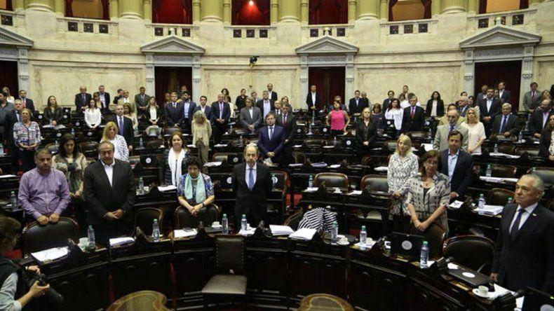 Diputados de la Nación homenajearon a Mario Das Neves